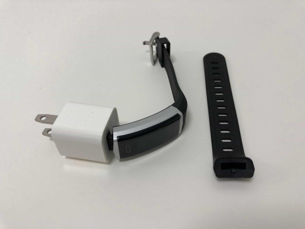 スマートウォッチ 充電 USBポート