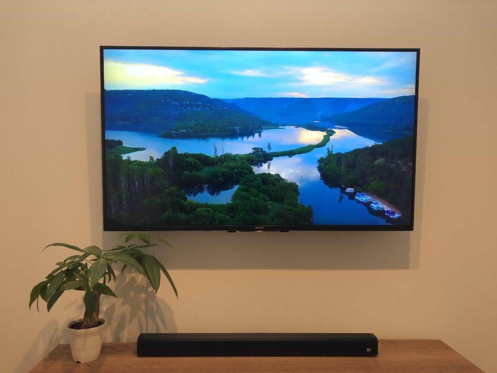 サウンドバー スピーカー taotronics 低価格サウンドバー 49インチ 薄型テレビ