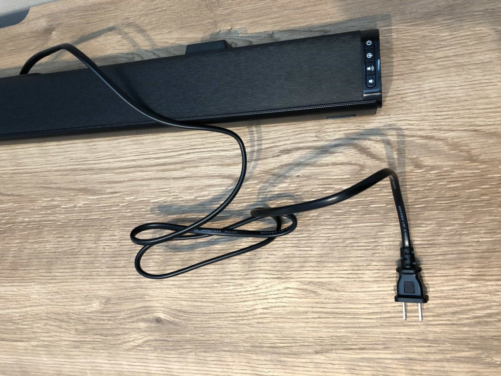 電源アダプター ACアダプター サウンドバー スピーカー taotronics 低価格サウンドバー