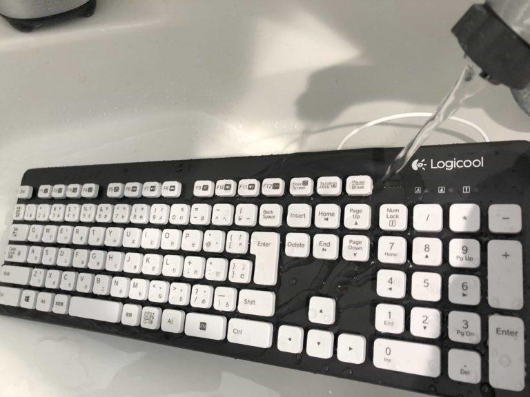 ロジクール Logicool 水洗い ウォッシャブル キーボード