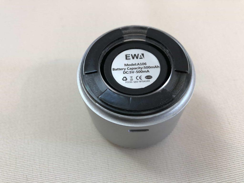 スピーカー コンパクトスピーカー Bluetooth ブルートゥース EWA A106 BOSE パッシブ振動膜 パッシブラジエーター