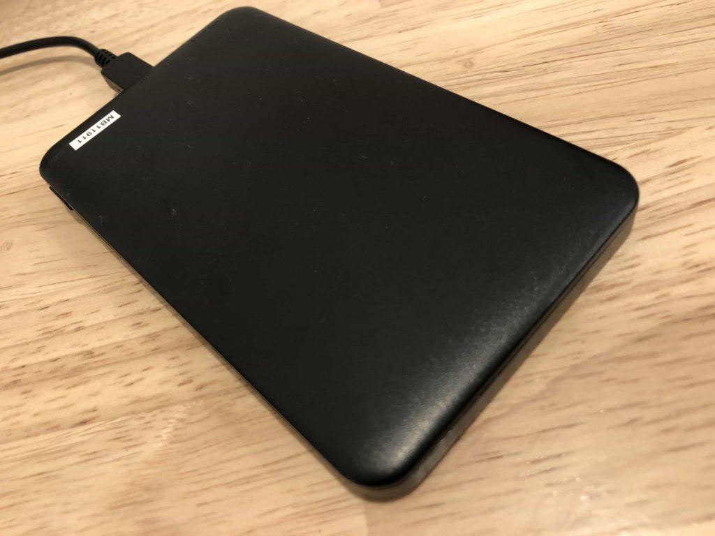 DAISO ダイソー モバイルバッテリー 500円 軽量