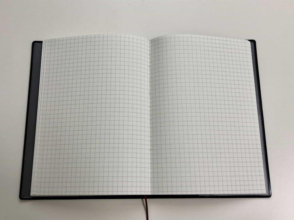 notebook muji 無印 無印良品 手帳 B6 ウィークリー マンスリー フラット製本