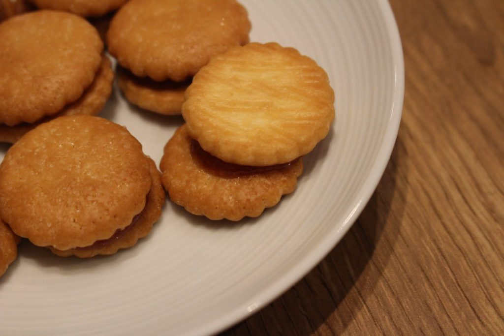 りんごジャムサンドクッキー 無印良品 muji