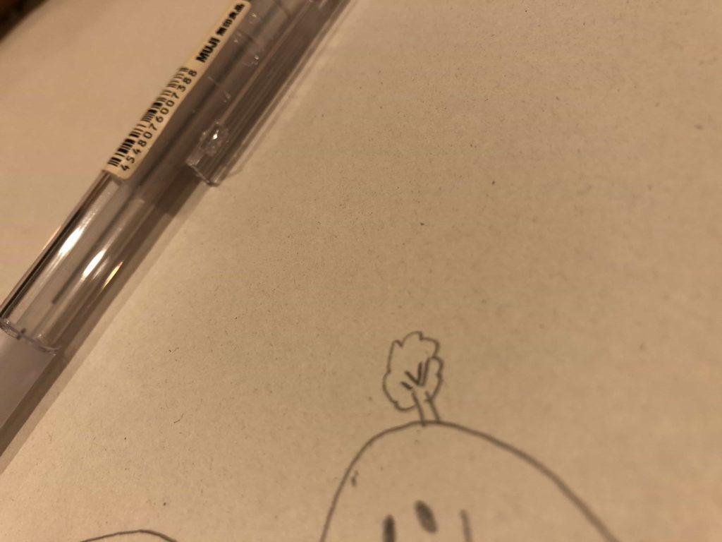 無印 無印良品 らくがき帳 メモ メモ帳 シャープペン ポリカーボネイトシャープペン 古紙