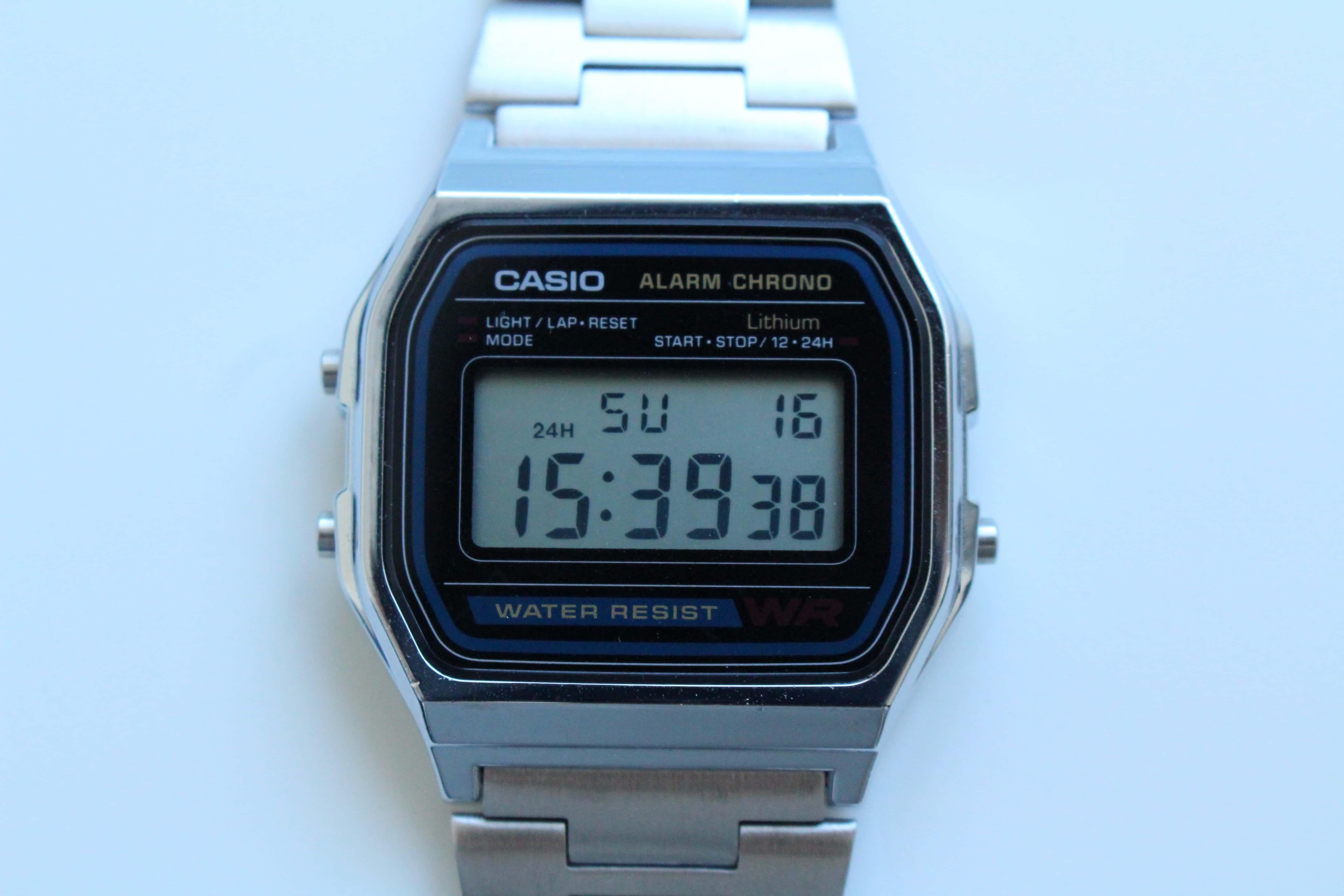 CASIO カシオ チープカシオ チプカシ A158WA-1JF シルバー 腕時計 時計
