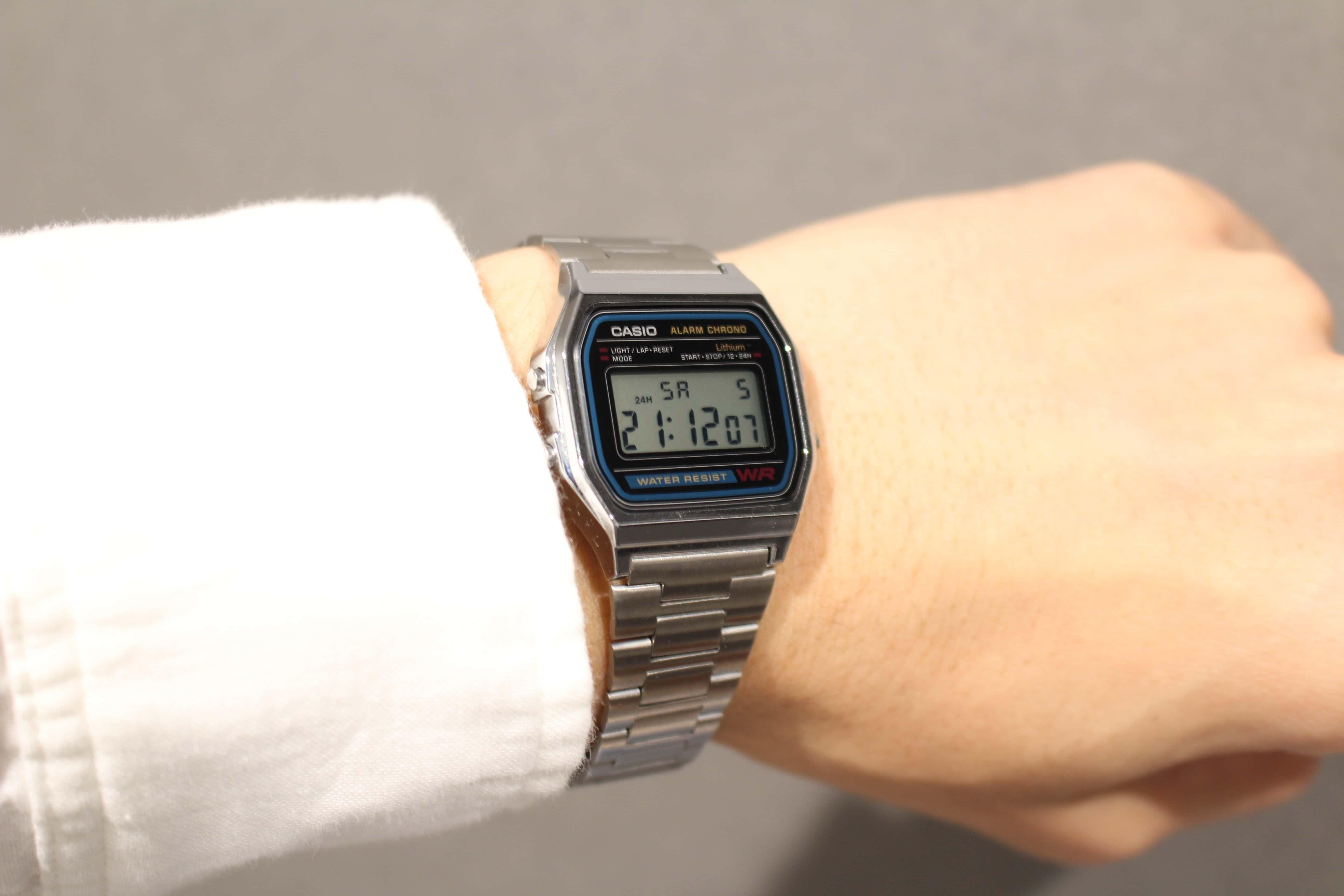 CASIO カシオ チープカシオ チプカシ A158WA-1JF シルバー 腕時計 時計 服装 ファッション