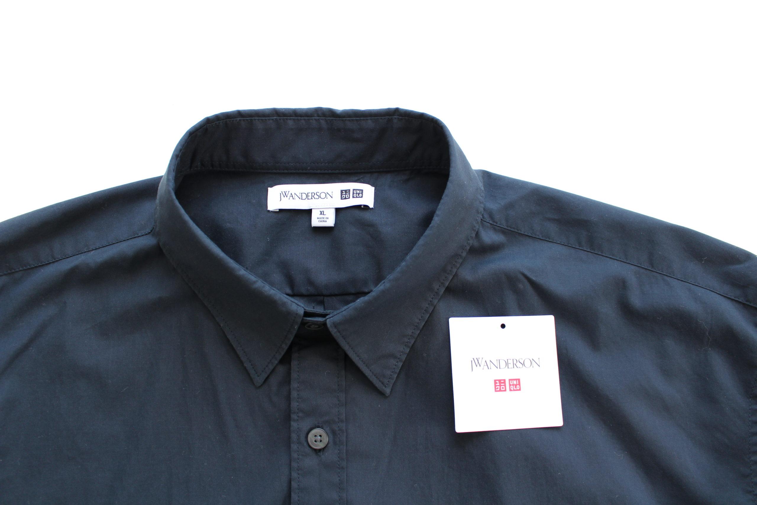 JWANDERSON JWアンダーソン アンダーソン ユニクロ uniqlo uniqlou ユニクロu ワイドフィットテーパードパンツ シャツ ネイビー uniqlou テーパード  2020ss エクストラファインコットンブロードオーバーサイズシャツ(長袖) EFCブロードオーバーサイズシャツ オーバーサイズシャツ 長袖シャツ ANDERSON