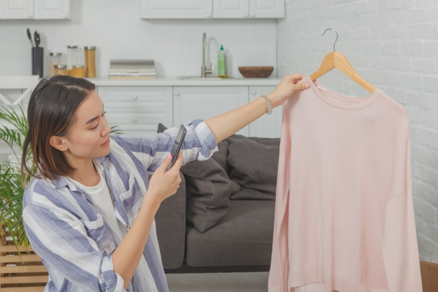 メルカリ mercari フリアマプリ 洋服 ファッション スマホ 服 売る 出品
