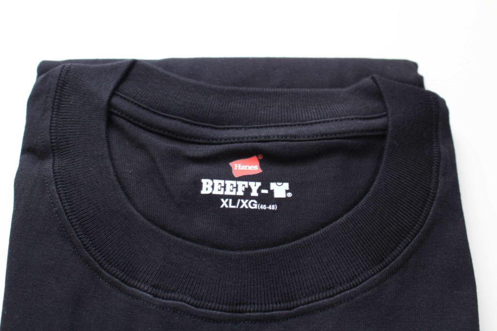 ヘインズ hanes ビーフィー ビーフィーTシャツ Tシャツ BEEFY BEEFY-T BEEFYTシャツ 肉厚 h5180 黒 ブラック