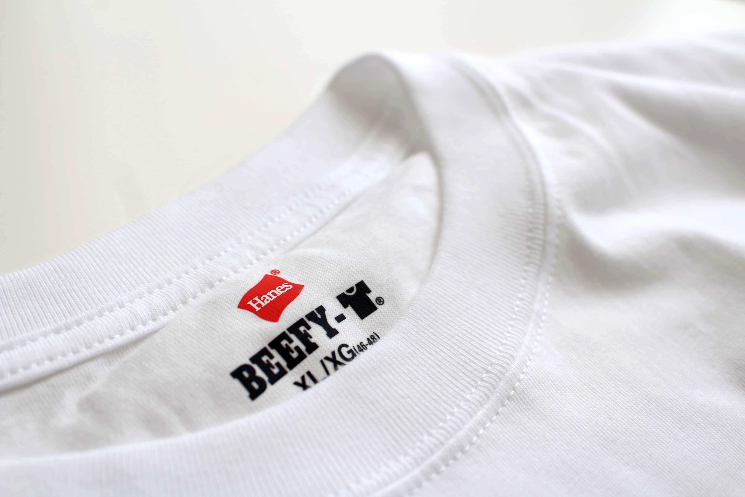 ヘインズ hanes ビーフィー ビーフィーTシャツ Tシャツ BEEFY BEEFY-T BEEFYTシャツ 肉厚 h5180 白 ホワイト