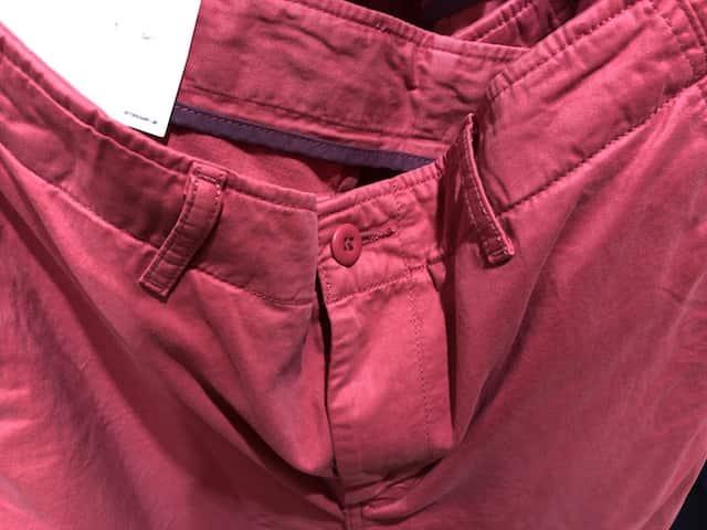 pink ボタン ショートパンツ メンズ チノショートパンツ ユニクロ UNIQLO ユニクロ感謝祭 UNIQLO感謝祭 UNIQLO ピンク