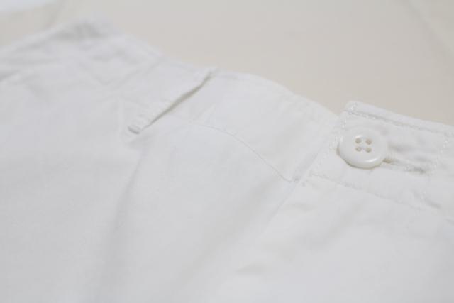 ホワイト white ボタン ショートパンツ メンズ チノショートパンツ ユニクロ UNIQLO ユニクロ感謝祭 UNIQLO感謝祭 UNIQLO