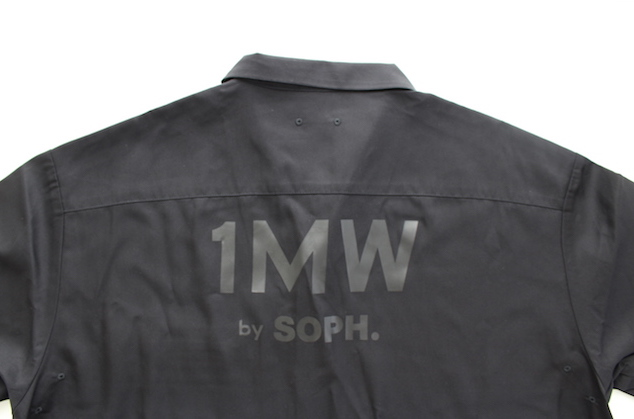 GU SOPH SOPH. SOPNET. 1MH ジーユー ソフ コラボ コラボレーション 2020 オープンカラーシャツ(5分袖) バックプリント