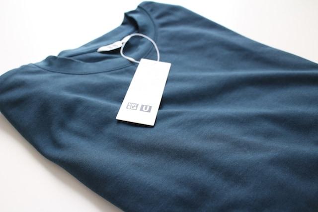 uniqlo ユニクロ ユニクロU Tシャツ オーバーサイズ ビッグシルエット エアリズム エアリズムコットンオーバーサイズTシャツ エアリズムTシャツ brown blue ブラウン ブルー