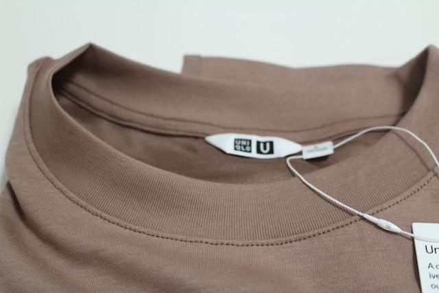 uniqlo ユニクロ ユニクロU Tシャツ ビッグシルエット オーバーサイズ エアリズム エアリズムコットンオーバーサイズTシャツ エアリズムTシャツ brown blue ブラウン ブルー