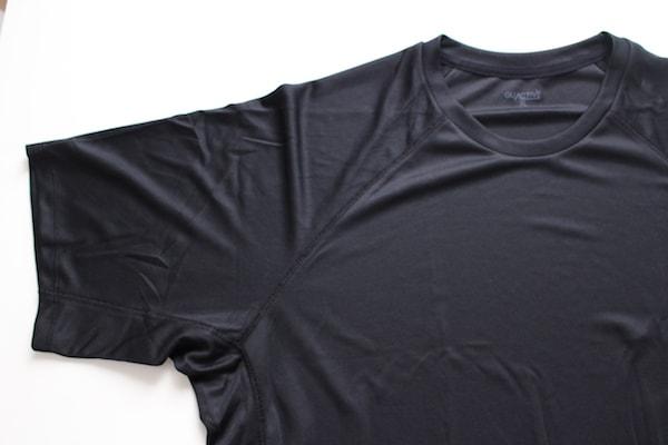 クルーネックT(半袖)GA(セットアップ可能) GU GUACTIVE GUアクティブ GUスポーツ ラグラン ラグランスリーブ スポーツウェア スポーツTシャツ ジーユー
