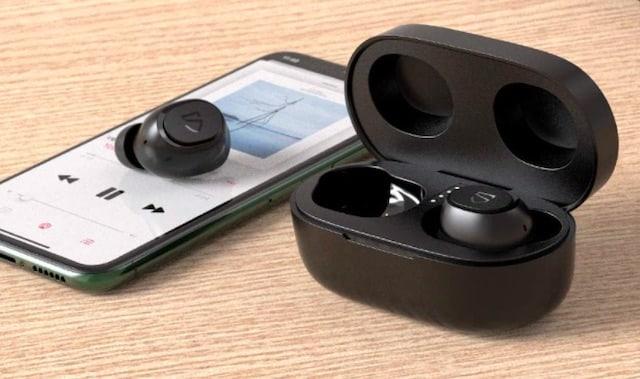 SOUNDPEATS Truefree2 無線イヤホン ワイヤレスイヤホン wireless Bluetoothイヤホン ブルートゥースイヤホン イヤホン ANKER レビュー コスパ おすすめ 安い