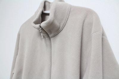 ユニクロ uniqlo フリース フリースフルジップジャケット オフホワイト 30 natural
