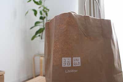 ユニクロ 紙袋 UNIQLO エコバッグ ショッピングバッグ 10円